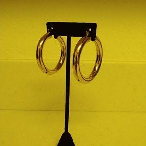 Aldo 90's Inspired Thick Rimmed Hoops